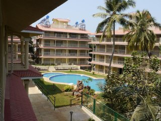 Lovely 2 Bedroom Apartment in Baga, North Goa, Arpora