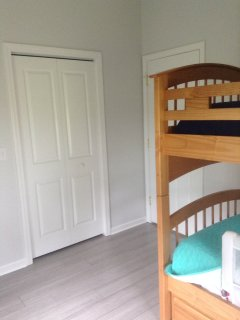 Bedroom 2 with twin size bunk beds