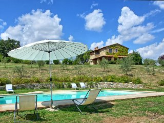 Luxury Villa Cristiana with private pool and views, Proceno