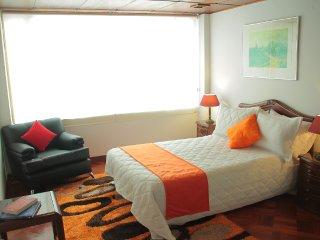 Arriendo apartamento amoblado, En Bogota al norte