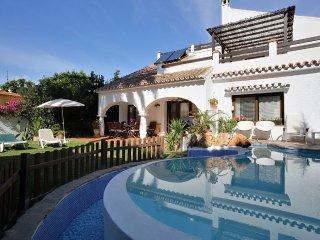 Espectacular Villa 10 pers. Piscina climat., San Pedro de Alcantara