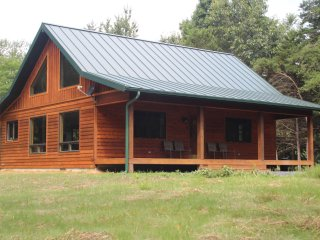GORGEOUS NEW CABIN! Secluded, Hot tub, Fireplace, Wifi, Handicap Accessible