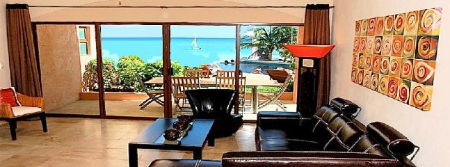 View from dinning room and living room