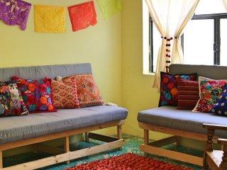 Casa Amatzolli habitación para 4 personas, San Cristóbal de las Casas