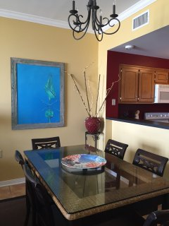 Even the Kitchen is open to all living areas and has an ocean view!