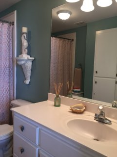 Large, bright Master Bath connected to Master Bedroom.