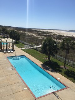 Two pools with views of the beach & ocean! (One heated in cooler weather.)