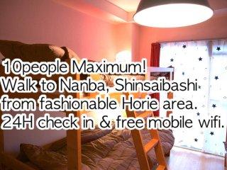 *1 max10/Nanba Shinsaibashi area easy, Osaka