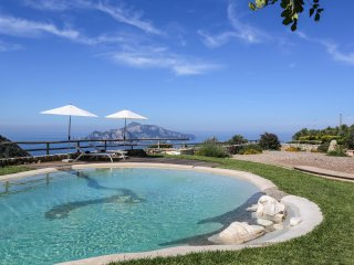 """Villa Athena"" - Panoramic bio-pool, Nerano"