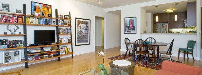 Furnished 1-Bedroom Condo at Van Ness Ave & Hickory St San Francisco