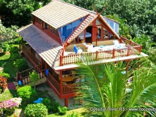Beachfront Holiday Villa for Rent: Coconut River R3, Ko Samui