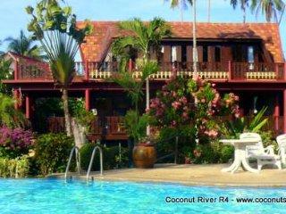 Holiday Villa for Rent: Coconut River R4 Beachside Rental, Ko Samui