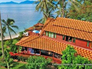 Beachfront Holiday Villa for Rent: Coconut Sands S1, Ko Samui