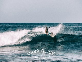 Casa Alice Surf Lodge rooms for rent