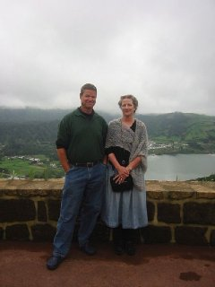 Owners, Buzz and Nancy in the Canary Islands
