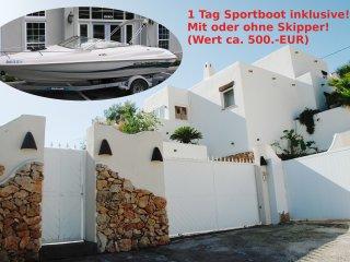 Designer villa with pool, sea view, Benissa