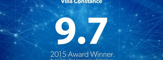Villa Constance/my first villa/ was an award winner/loved by guests/