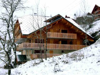 Wonderful 2 bed apartment with large terrace, Vaujany