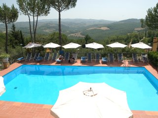 Apartment in Tuscany with great views - Rondini 1, San Donato in Poggio