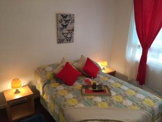 Moderno depto. 2 dormitorios, 2 banos Stgo centro