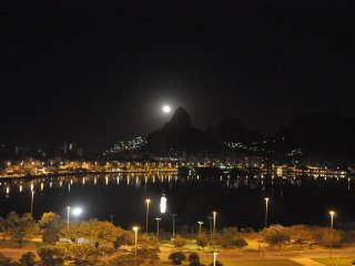 Vista Cinematografica da Lagoa