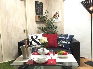 SHINJUKU3minWALK MAX6GUEST 3BRWIFI FAMILY SIZE, Shinjuku