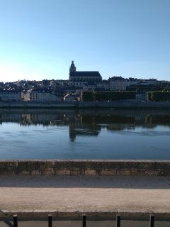 House on the Loire, great view, heart of Blois