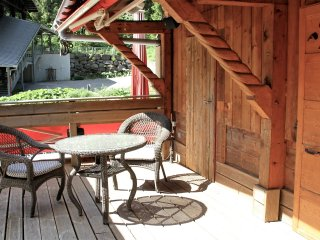 Comfortable chalet with great views