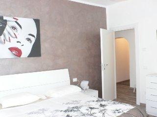 Camera letto matrimoniale in appartamento.