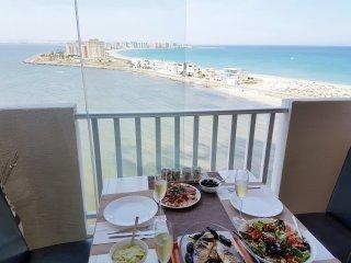 Atico con vistas panoramicas al Mar Mediterraneo, La Manga del Mar Menor