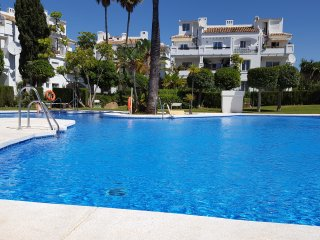 2 bed/2 baño Apt, Mijas Costa cerca de playa y golf