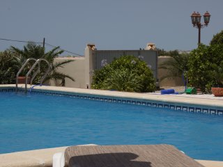 private pool (10 x 5 m with roman steps)