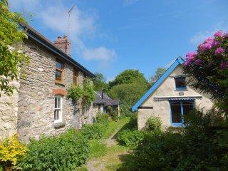 Maen-Offeiriad Cottages, Newport