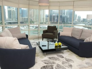 Panoramic Marina views, 2BR condo