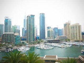Panoramic Marina views, 2BR condo