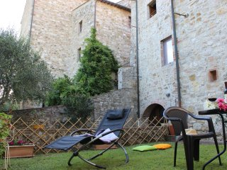 Appartamento in Borgo Medievale, Il Giardino