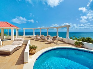 TERRASSE DE MER...Gorgeous villa, breathtaking view of Baie Rogue Beach., St-Martin/St Maarten