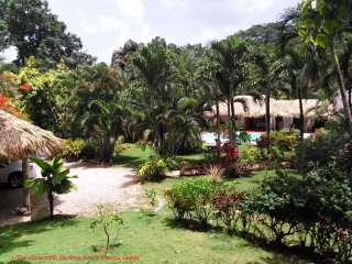Villa indépendante style caraïbes / 1 ou 2 chambres indépendantes / 2 ou 4 pers, Las Terrenas