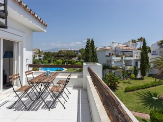 Riviera de Sol Vue mer et jardins proche plages, Mijas