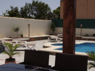 outside and pool area