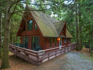 Charming mountain chalet in peaceful setting with hot tub!, Swanton