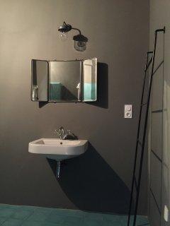 salle de douche chambre terrasse