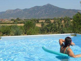 Appartamento indipendente in campagna, uso piscina