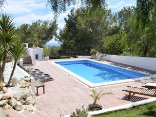 Villa con vistas al mar cerca de la ciudad de Ibiza, Sant Josep de Sa Talaia