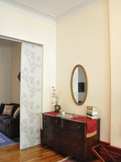 Analita's Decorative Details with view on the Living Room Area