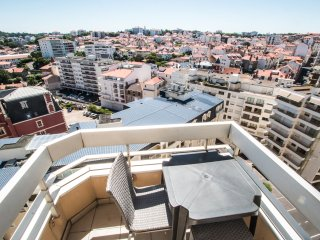 biarritz, dernier etage au victoria surf +terrasse