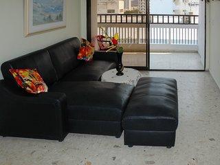 Apartamento con balcón y vista al Mar 1006KA