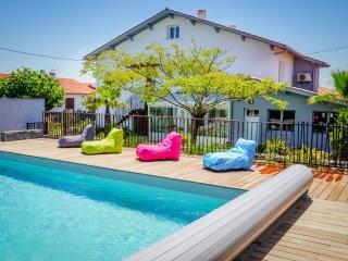 Villa Itsas Ondoa 12p idéale pour partir à 3 familles