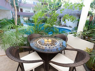 LUXURY TULUM GROUND FLOOR CONDO CLOSEST TO BEACH!!