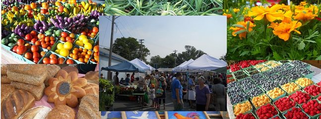 Lunenburg Farmer's Market is Thursdays from 8-noon
